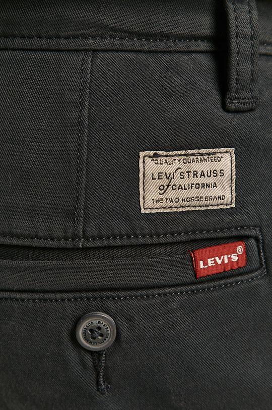 granatowy Levi's - Spodnie