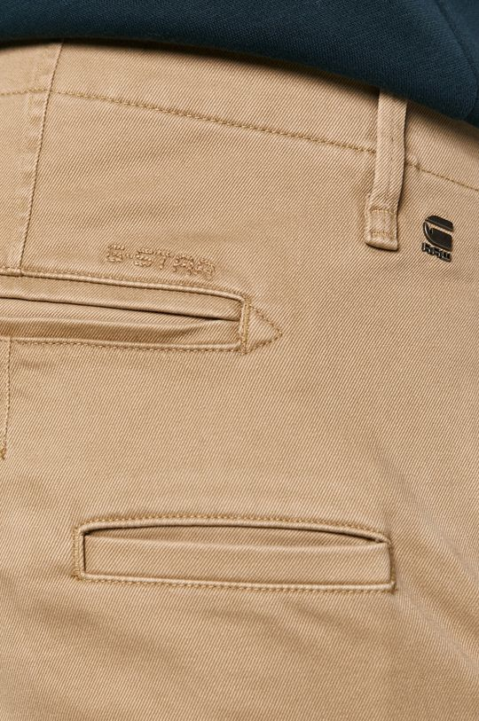 béžová G-Star Raw - Kalhoty