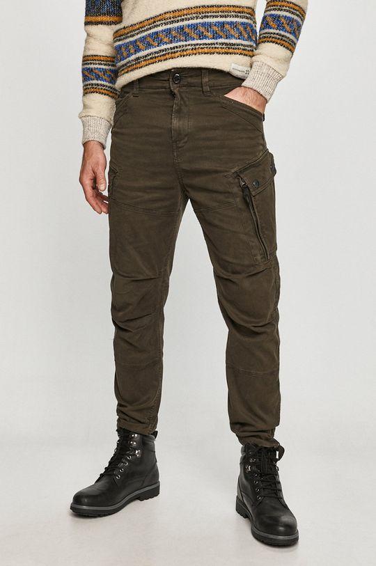 tlumená zelená G-Star Raw - Kalhoty Pánský