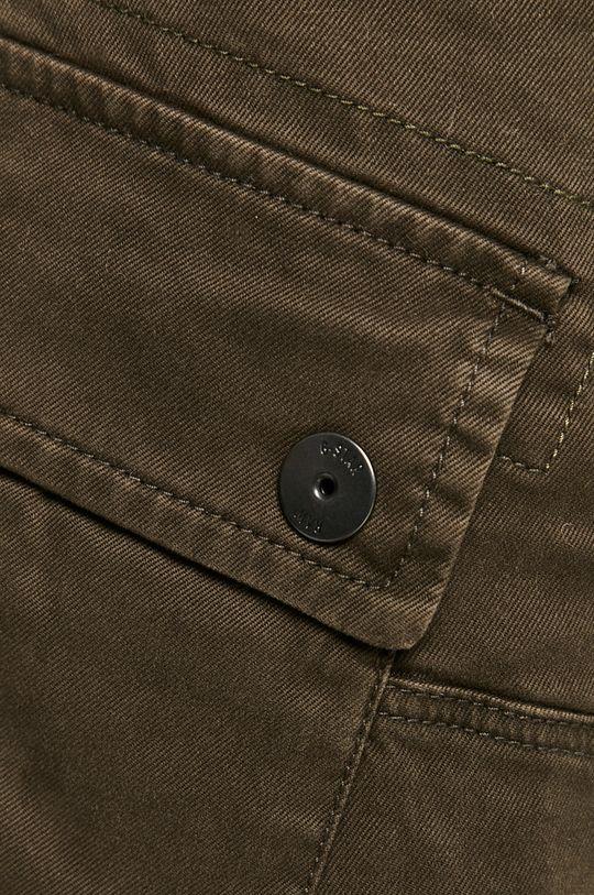 tlumená zelená G-Star Raw - Kalhoty