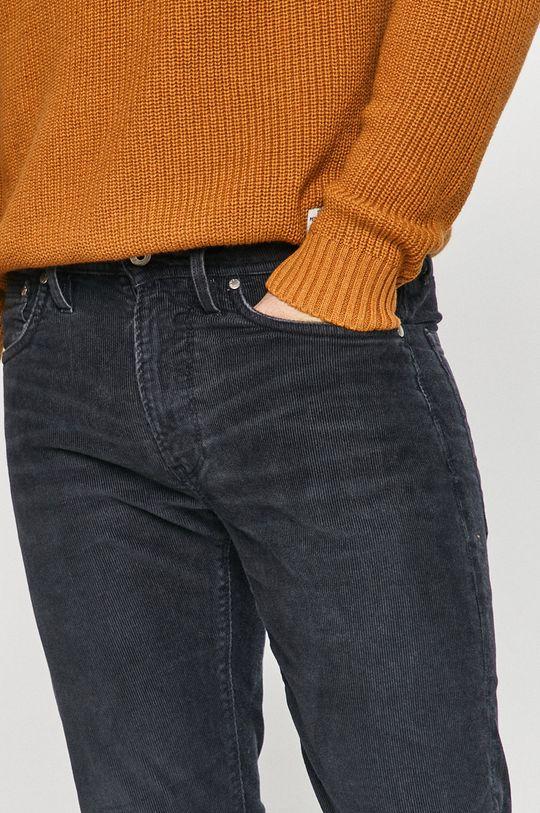 ocelová modrá Pepe Jeans - Kalhoty Stanley