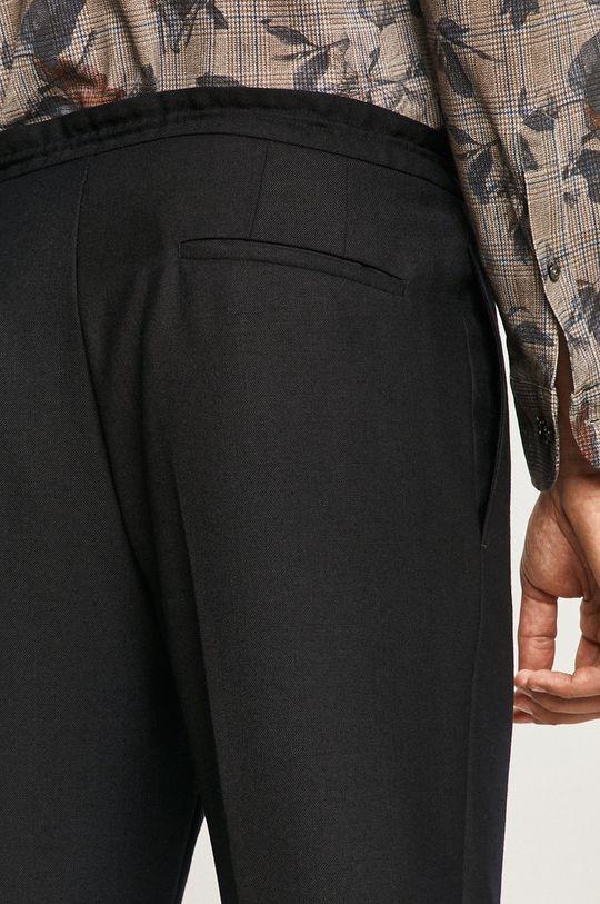 granatowy Strellson - Spodnie