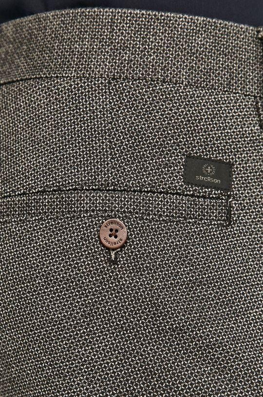 czarny Strellson - Spodnie