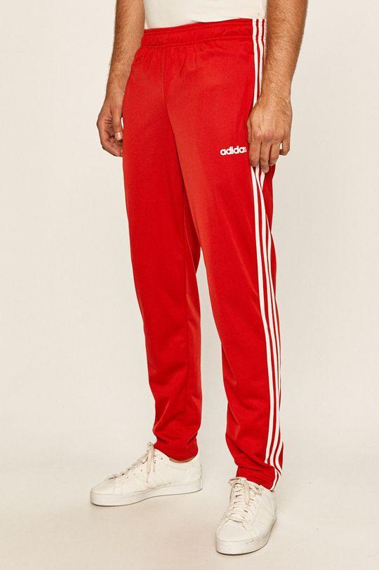 czerwony adidas - Spodnie Męski