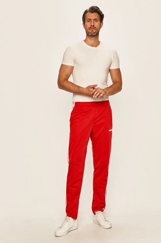 adidas - Spodnie czerwony