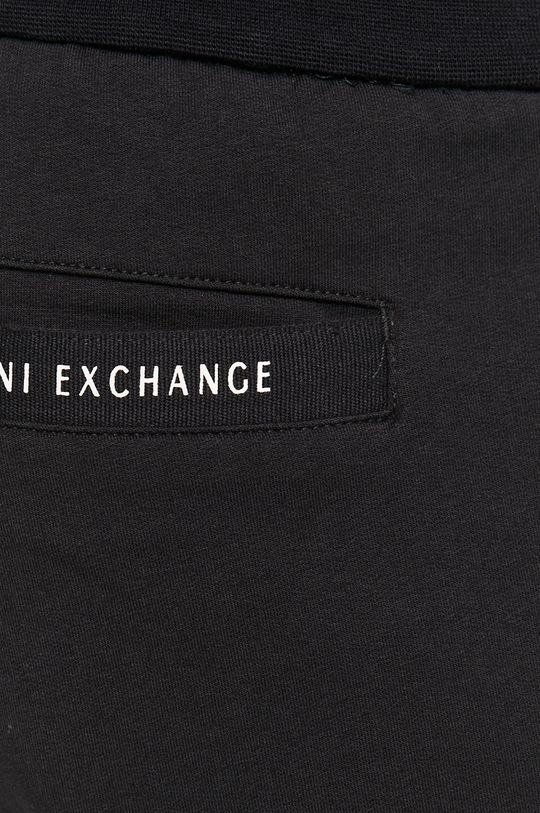 tmavomodrá Armani Exchange - Nohavice