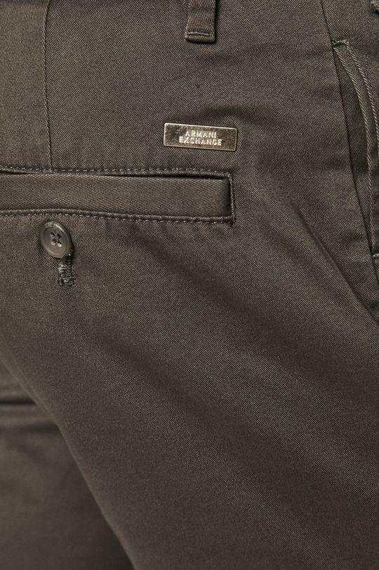 šedá Armani Exchange - Kalhoty