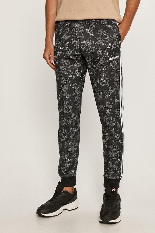 čierna adidas Originals - Nohavice x Disney Pánsky