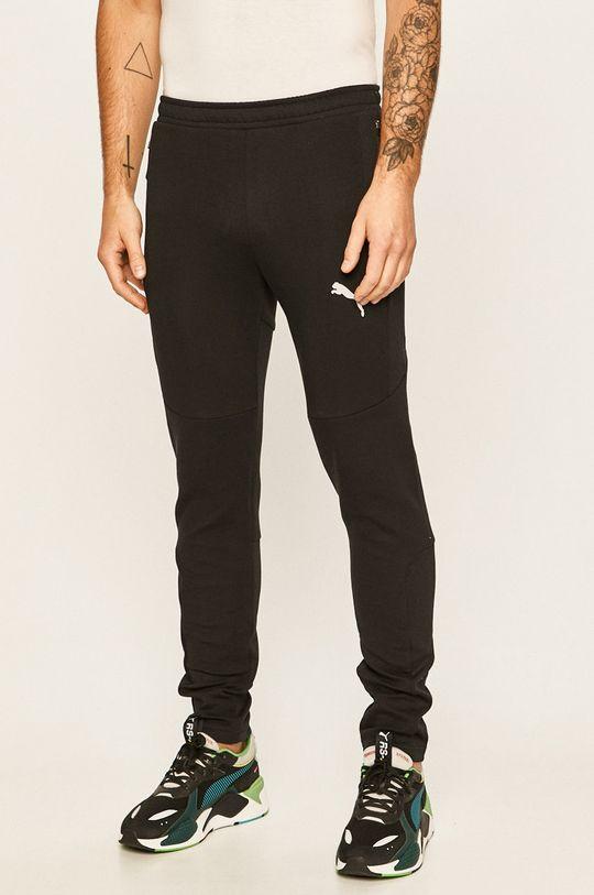 černá Puma - Kalhoty Pánský