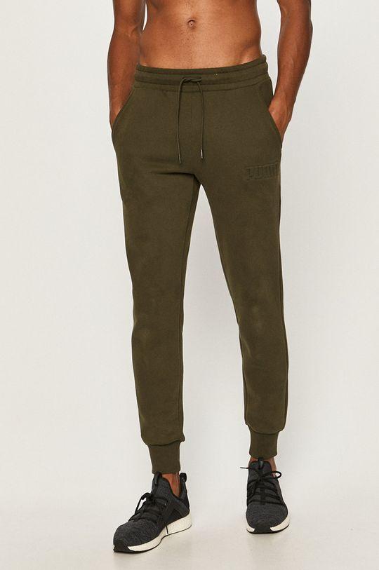 verde maro Puma - Pantaloni De bărbați