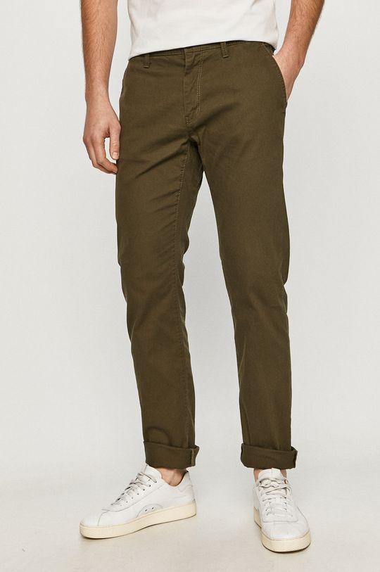 zelená Tom Tailor Denim - Kalhoty Pánský