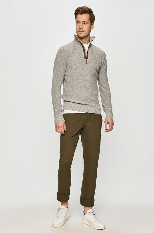 Tom Tailor Denim - Kalhoty zelená