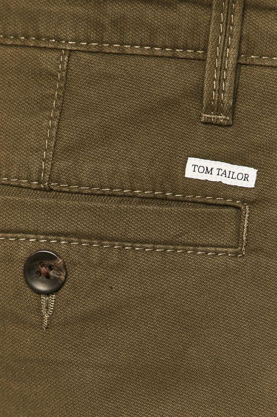 zelená Tom Tailor Denim - Kalhoty