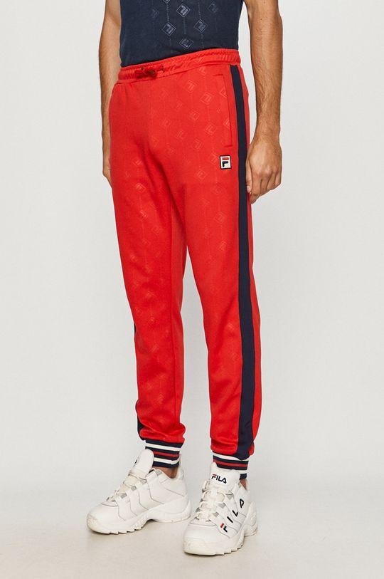 czerwony Fila - Spodnie Męski