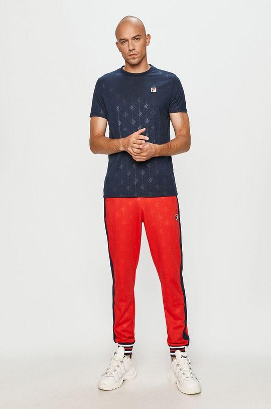 Fila - Spodnie czerwony