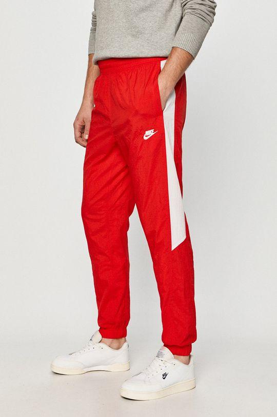 czerwony Nike Sportswear - Spodnie Męski