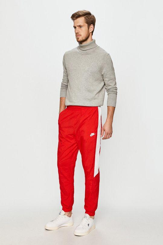 Nike Sportswear - Spodnie czerwony