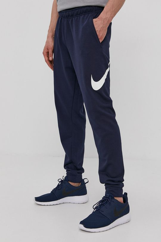 granatowy Nike - Spodnie CU6775 Męski