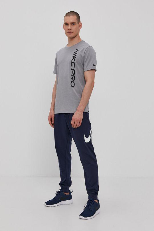 Nike - Spodnie CU6775 granatowy
