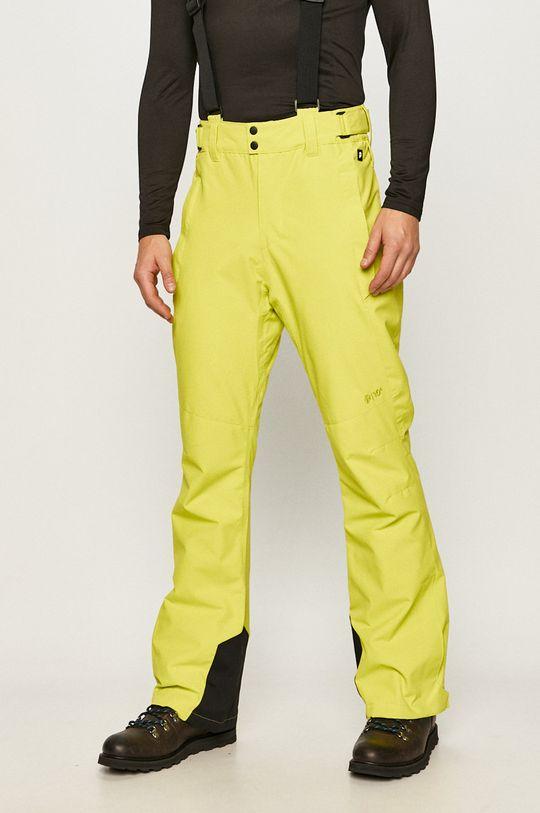 żółto - zielony Protest - Spodnie Męski