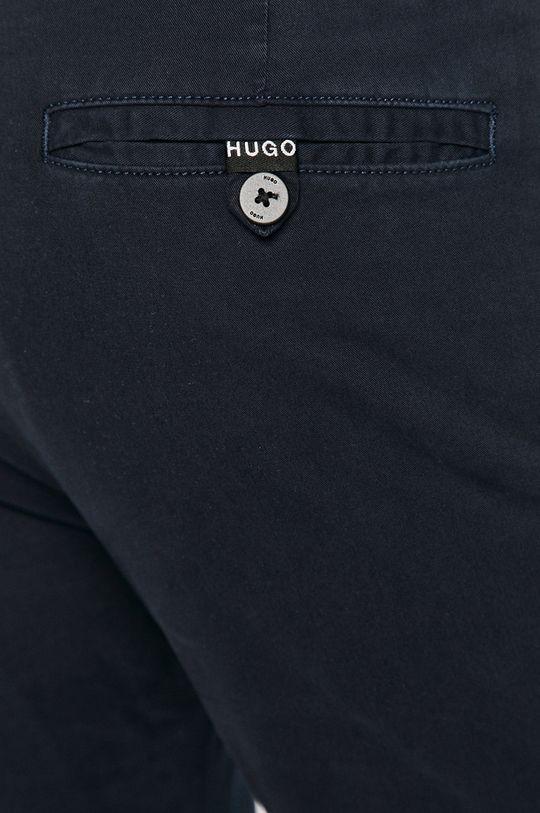 granatowy Hugo - Spodnie