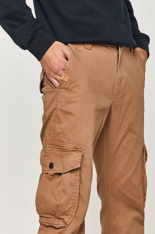 złoty brąz Tom Tailor - Spodnie
