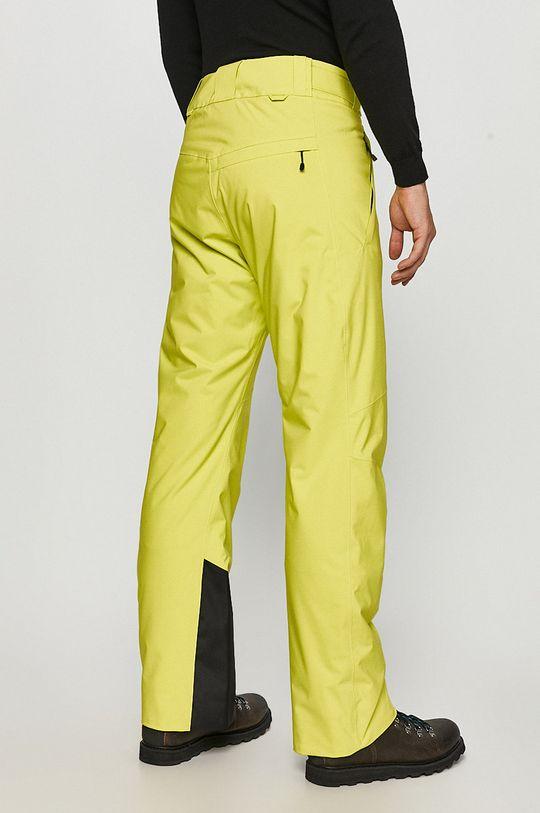 Peak Performance - Spodnie snowboardowe żółto - zielony