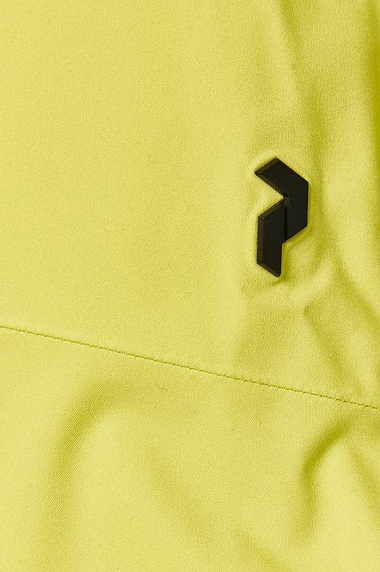 żółto - zielony Peak Performance - Spodnie snowboardowe
