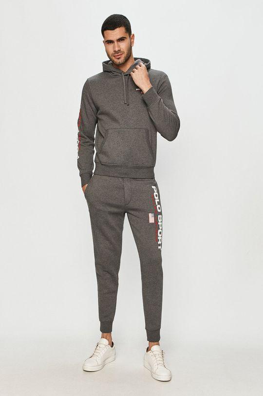 Polo Ralph Lauren - Kalhoty tmavě zelená