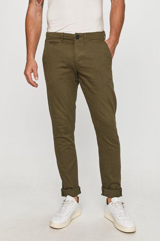 oliwkowy Produkt by Jack & Jones - Spodnie Męski
