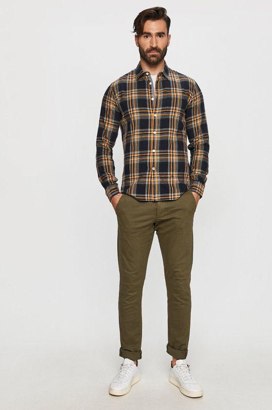 Produkt by Jack & Jones - Spodnie oliwkowy