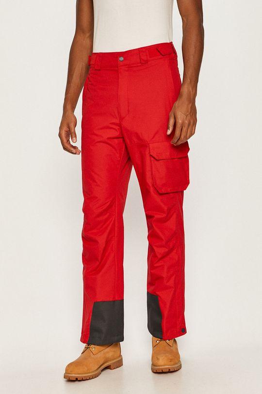 czerwony Columbia - Spodnie snowboardowe Męski