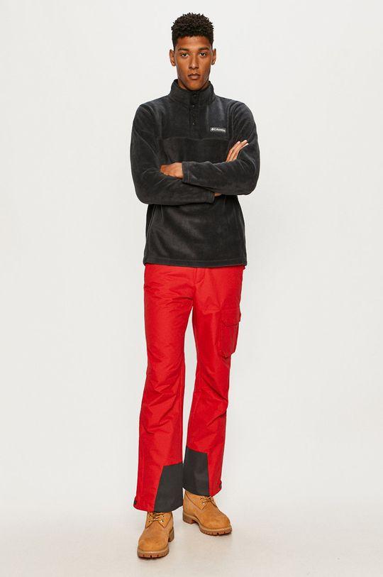 Columbia - Spodnie snowboardowe czerwony