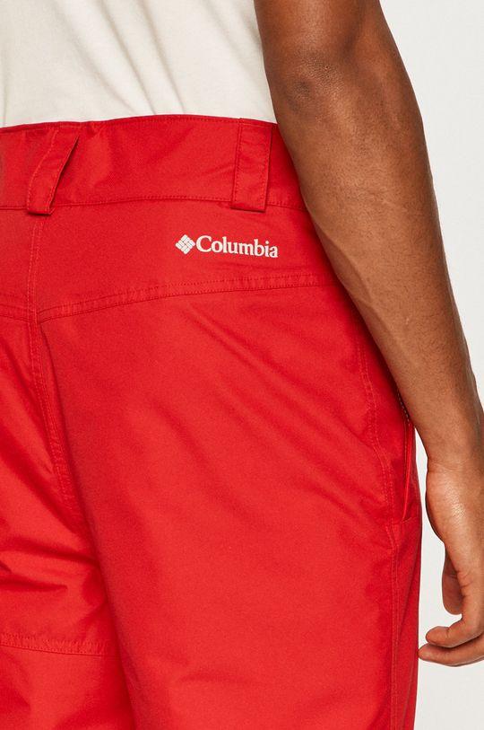 czerwony Columbia - Spodnie snowboardowe