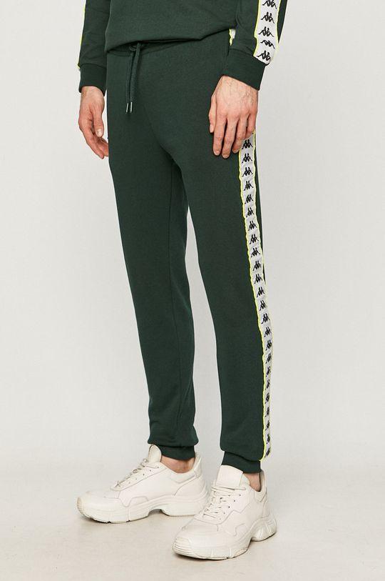 ciemny zielony Kappa - Spodnie Męski