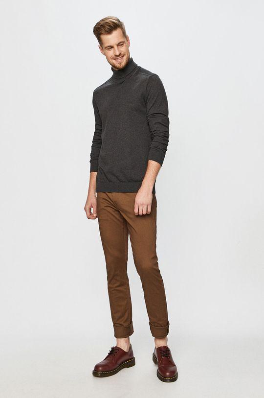 GAP - Kalhoty kávová