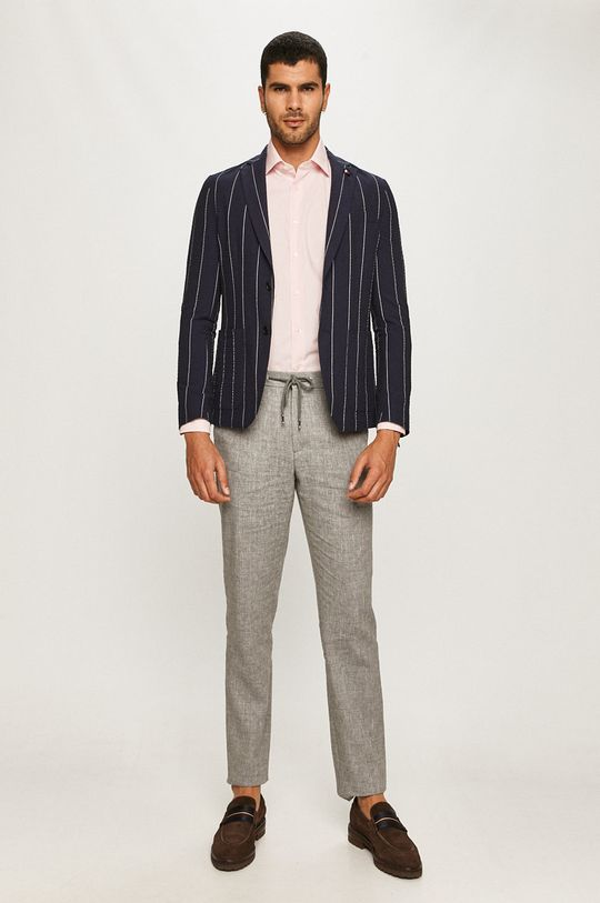 Tommy Hilfiger Tailored - Pantaloni gri