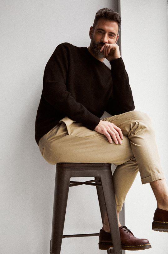 béžová AllSaints - Kalhoty