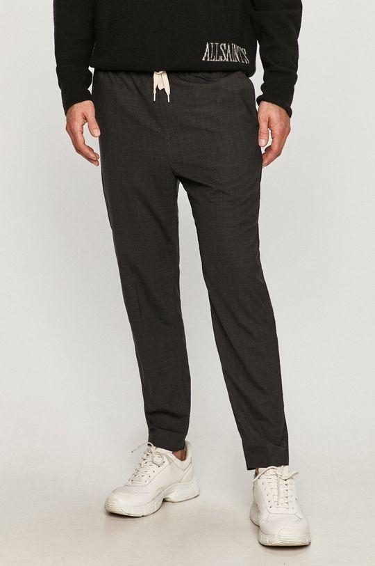 czarny AllSaints - Spodnie Acrux Męski