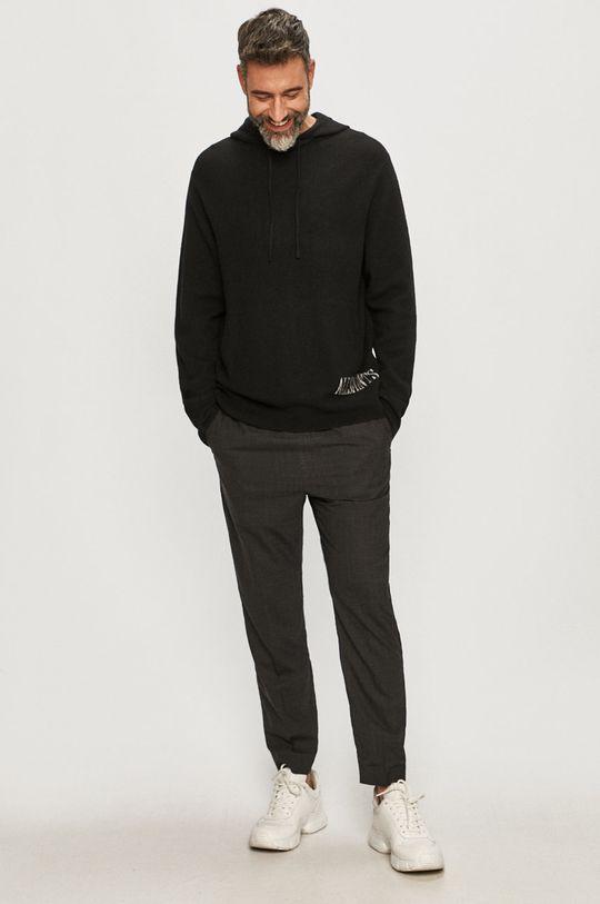 AllSaints - Spodnie Acrux czarny