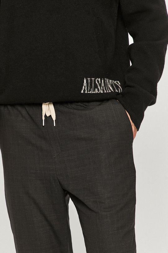 czarny AllSaints - Spodnie Acrux