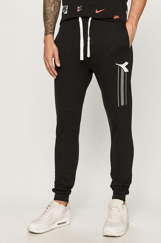 negru Diadora - Pantaloni De bărbați