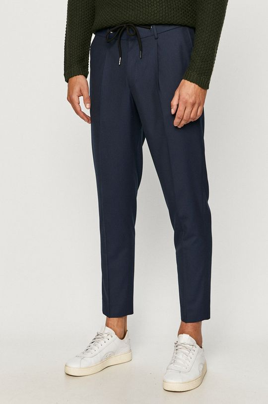 námořnická modř Selected - Kalhoty Pánský