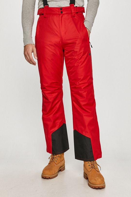 czerwony 4F - Spodnie Męski