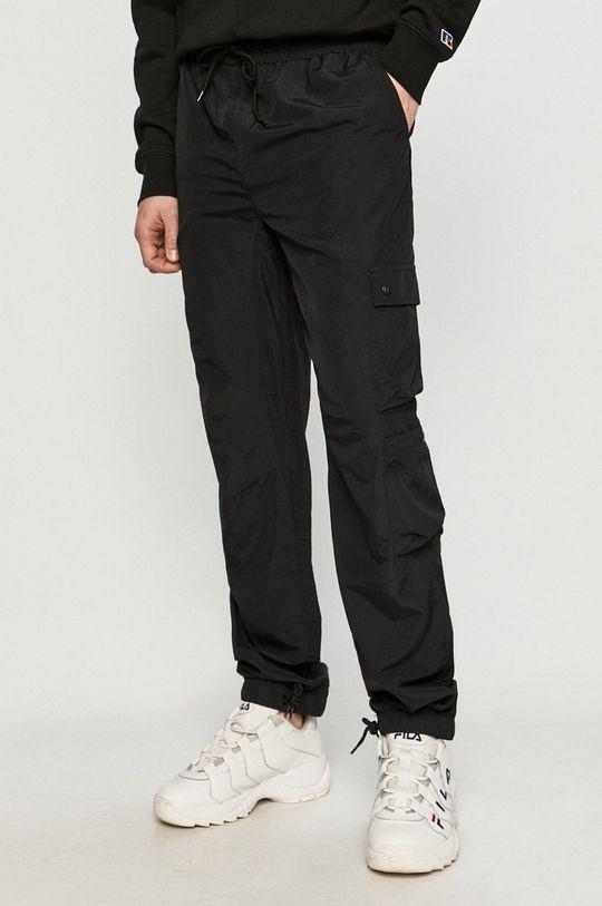 czarny Russell Athletic - Spodnie Męski