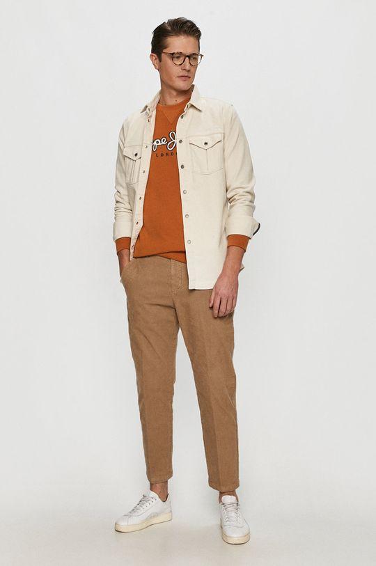 Marc O'Polo - Kalhoty tělová