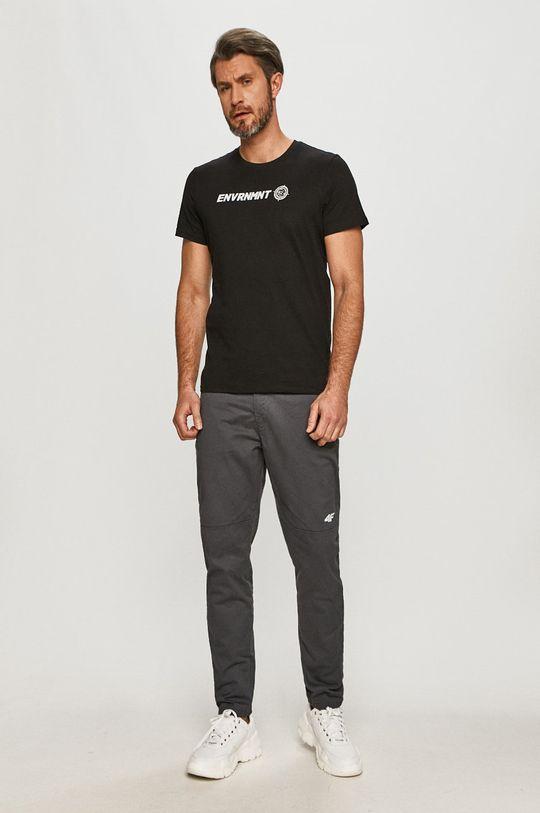 4F - Nohavice sivá