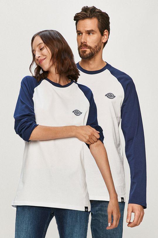 modrá Dickies - Tričko s dlhým rukávom Unisex