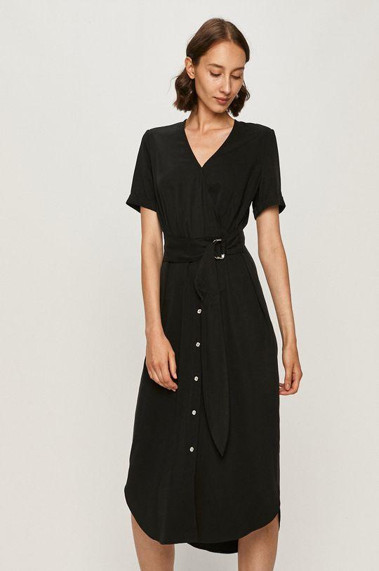 čierna Calvin Klein - Šaty Dámsky