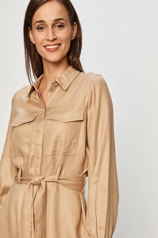 piaskowy Vero Moda - Sukienka